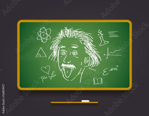 chalkboard Canvas Print