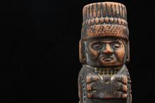 Ancient Mayan Statue