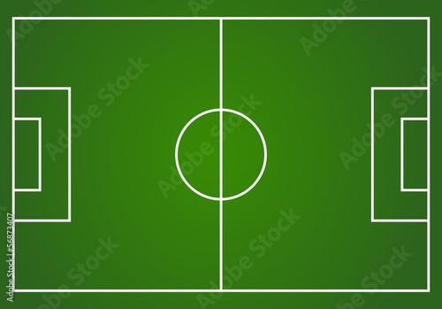 Vector football field layout - Buy this stock vector and