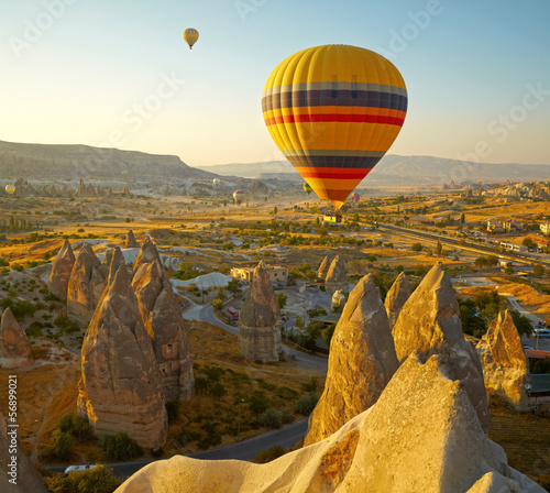 Poster Turquie Cappadocia. Turkey