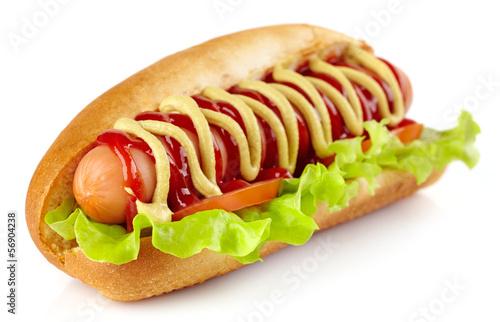 Carta da parati Hot dog