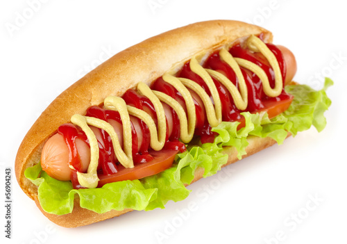 Fotografie, Obraz  Hot dog