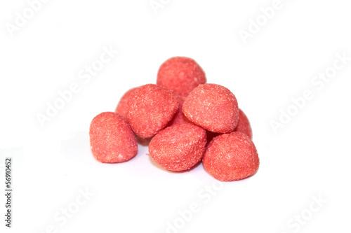 Fotobehang Snoepjes bonbons fraise
