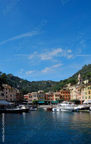 Canvas Prints Liguria la strada per Portofino