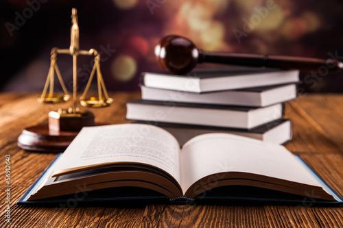 Fotografía  Law concept