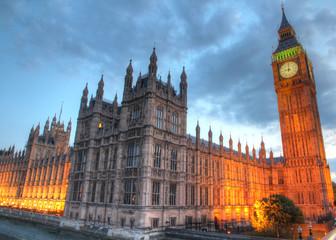 Fototapeta na wymiar Big Ben, London, UK