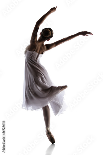 Foto  Female ballet dancer