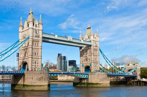 Spoed Foto op Canvas Theater Tower Bridge