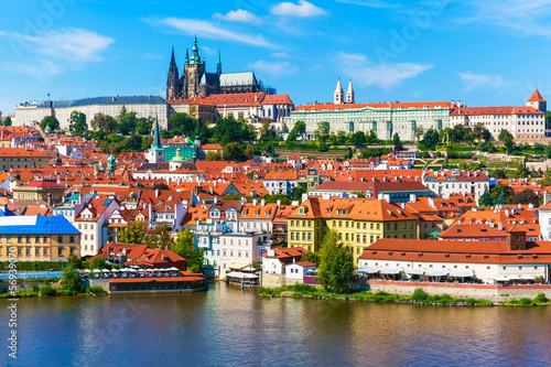 Poster Prague Scenery of Prague, Czech Republic