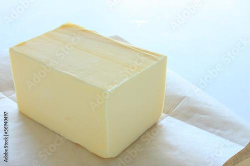 Staande foto Zuivelproducten バター