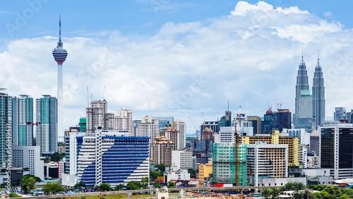 Poster de jardin Kuala Lumpur Kuala Lumpur city