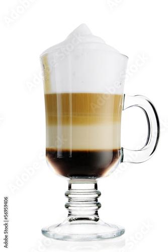 Fotografie, Obraz  Coffee latte
