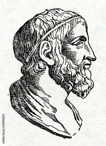 Photo Archimedes, Greek mathematician, physicist, engineer