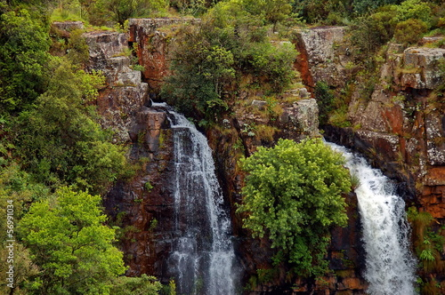 Spoed Foto op Canvas Zuid Afrika Mac Mac waterfall, South Africa