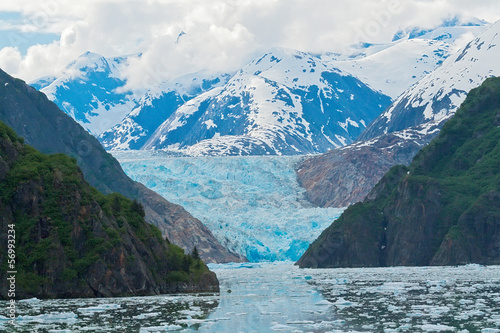 Canvas Prints Glaciers Sawyer Glacier