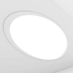 Plakat White Interior Background