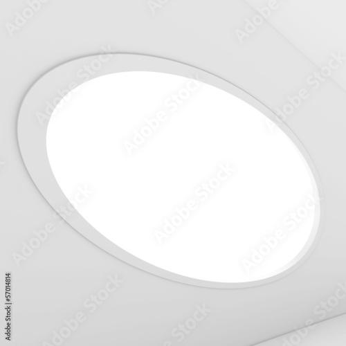 White Interior Background - 57014814