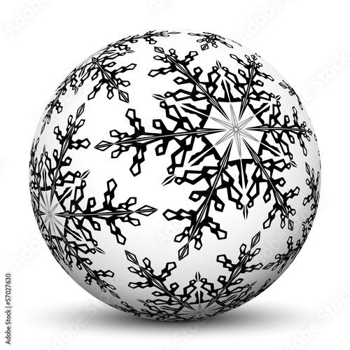 Ausmalbild Weihnachtskugeln Weihnachtsmalvorlagen 3