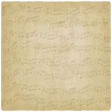 Vintage Music Background - Vector Illustration
