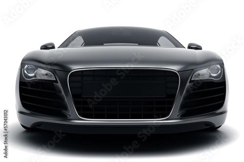 Poster Voitures rapides Black Sports Car