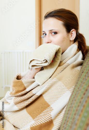 Photo  illness woman