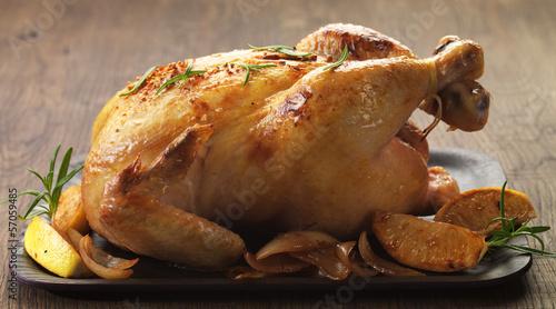 Plakat Pieczony kurczak