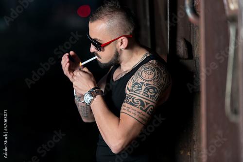 Fotografia, Obraz  Smoker