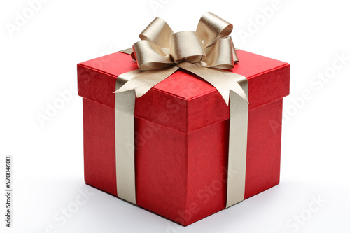 Fotografie, Obraz  Red gift box
