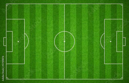 Fotografie, Obraz  Soccer sport grass playground. Football field or pitch stadium