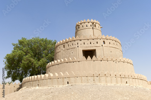 Photo  Arabian Fort in Al Ain Dubai