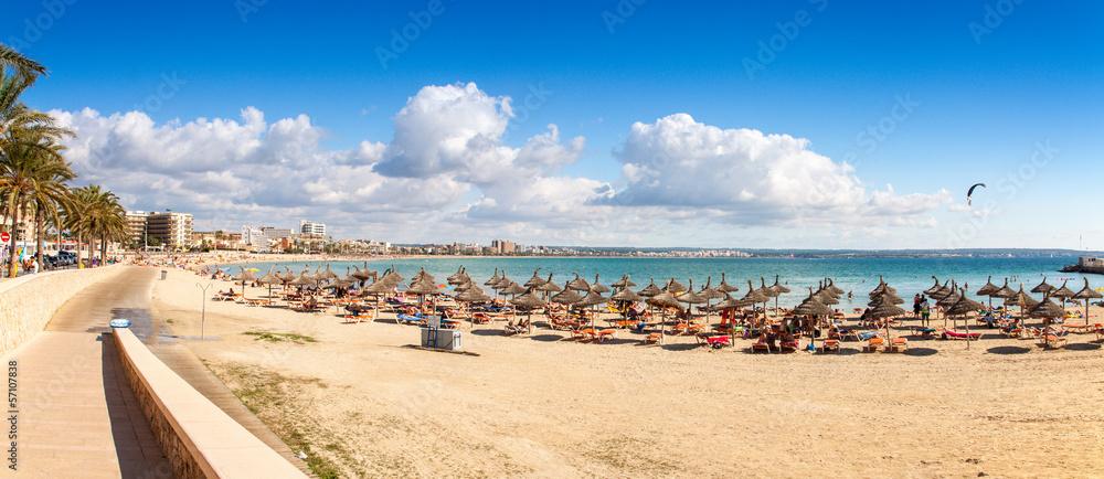 Fototapety, obrazy: Platja de Palma Beach