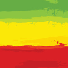 Grunge Background With Flag Of...