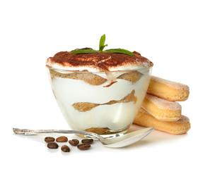 Panel Szklany Podświetlane Słodycze dessert tiramisu