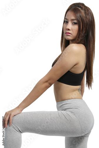 Fototapety, obrazy: Yoga woman