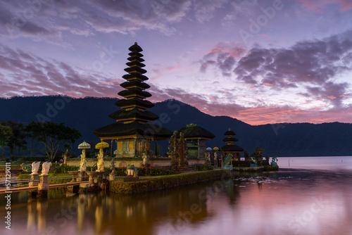 Tuinposter Bali Wassertempel