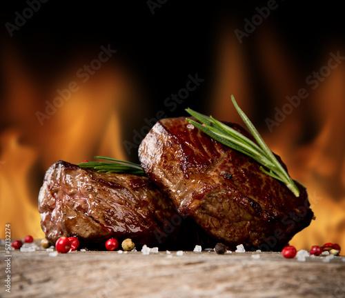 Photo  Beef steaks