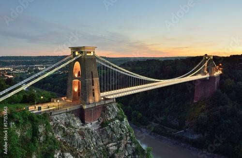 Clifton suspension bridge Wallpaper Mural