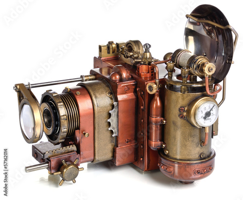 Photo  camera steampunk