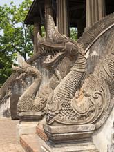 Pagoda Wat Phra Keo In Vientiane, Laos