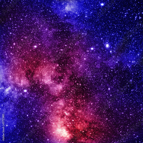 Photo  deep outer space