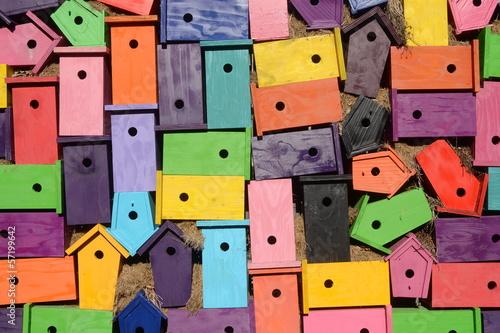 Leinwand Poster Wohnraumsiedlung
