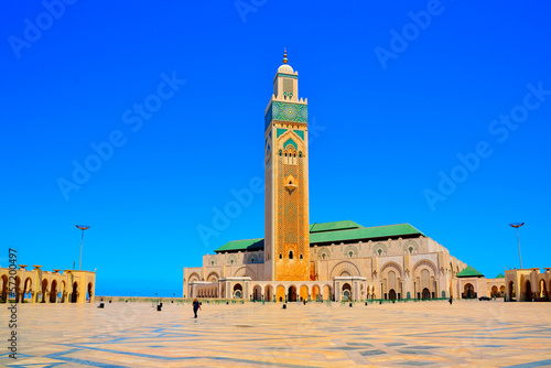 Photo Stands Morocco Moschea Hassan II