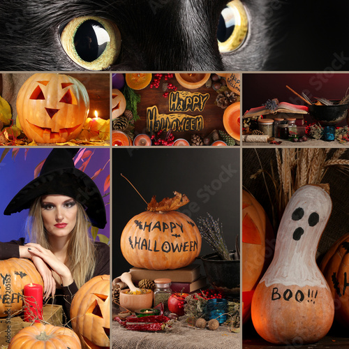 Halloween Collage Wall Mural Wallpaper Murals Wallsheaven Africa Studio