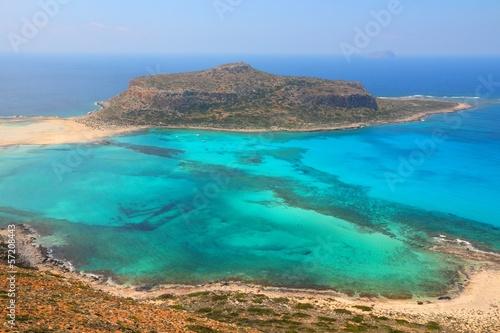 Spoed Fotobehang Zalm Balos, Crete
