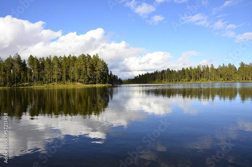 Fotobehang Scandinavië Femundsee