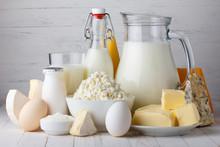 Dairy Products, Milk, Cottage Cheese, Eggs, Yogurt