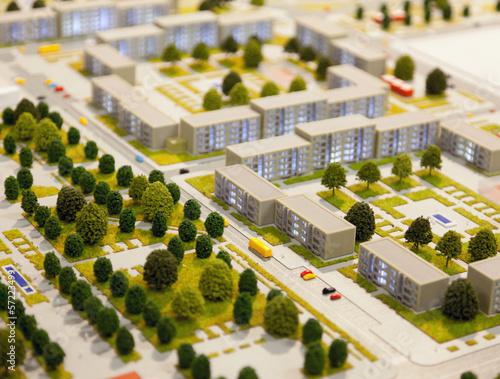 Poster Miel architectural model