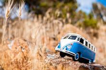 Old Fashioned Miniature Van On...