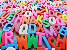 Colorful Letter Texture