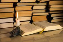 Gospel New Testament, Candle A...